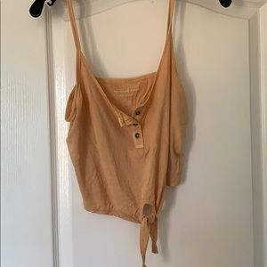 Tank top with tie